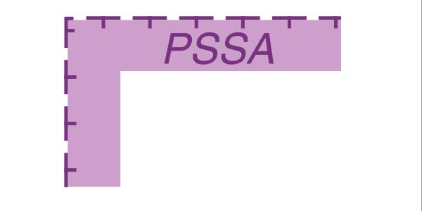 PSSA symbol from a nautical chart